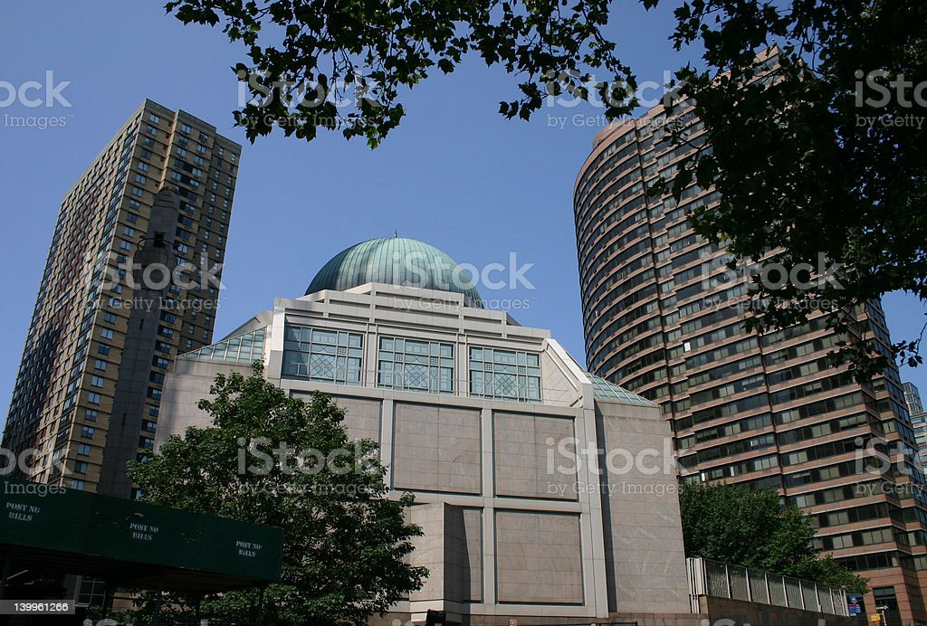 Islamic Cultural Center, New York City stock photo
