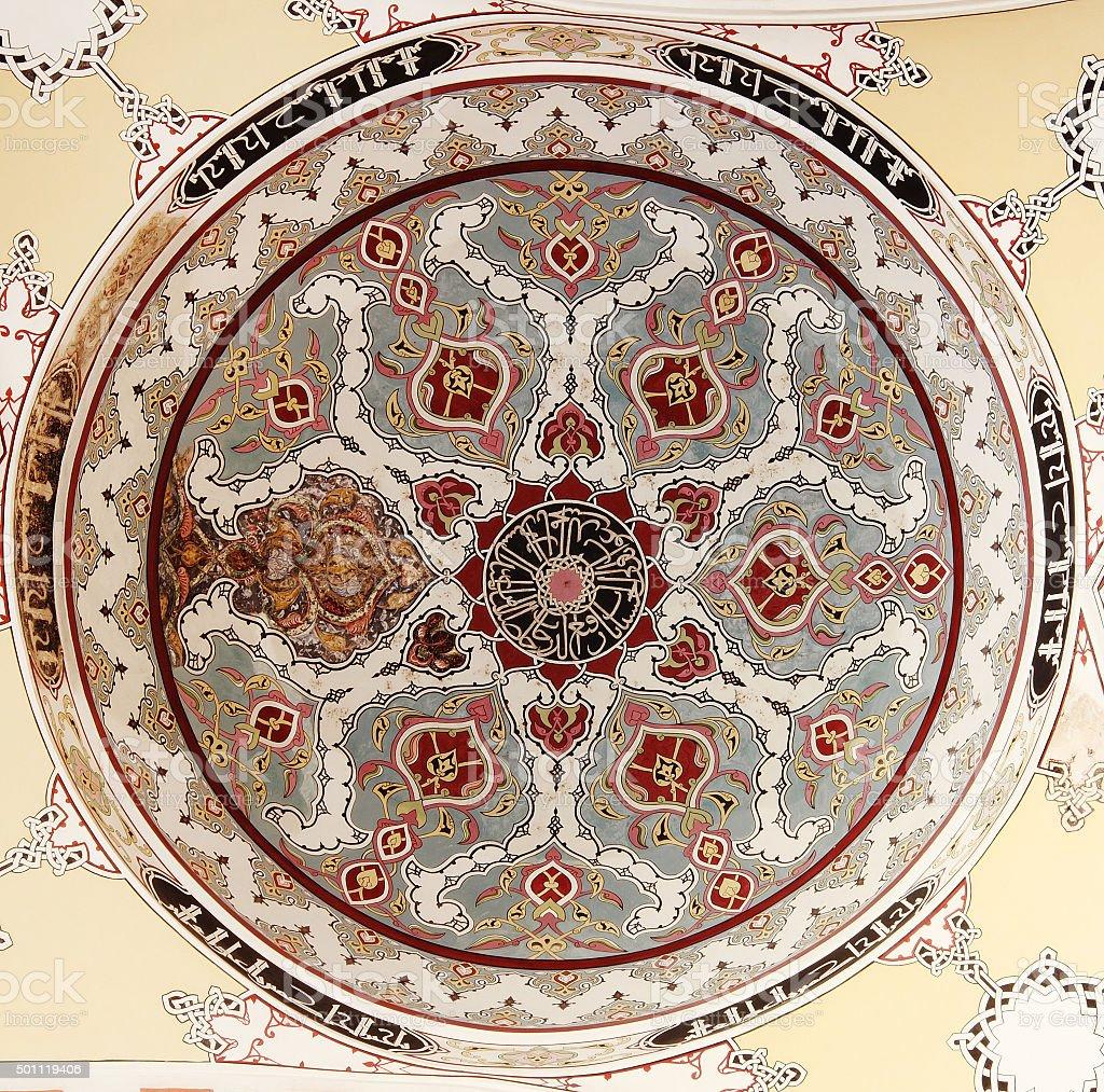Islamic geometric pattern stock photo