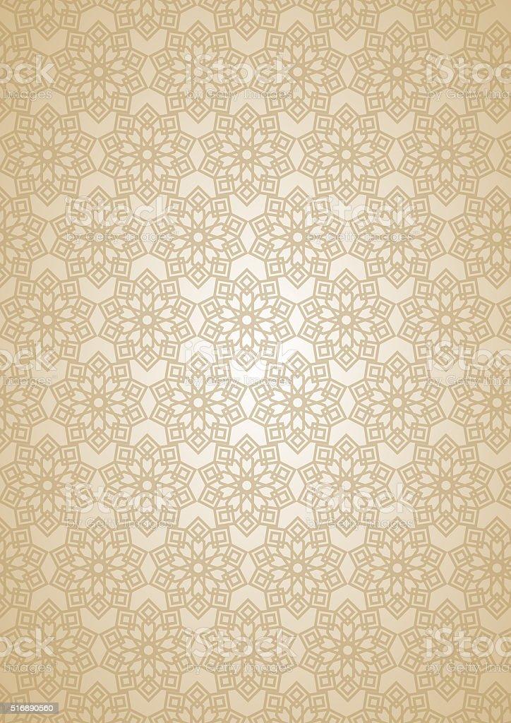 islamic Geometrical Pattern Background  design stock photo