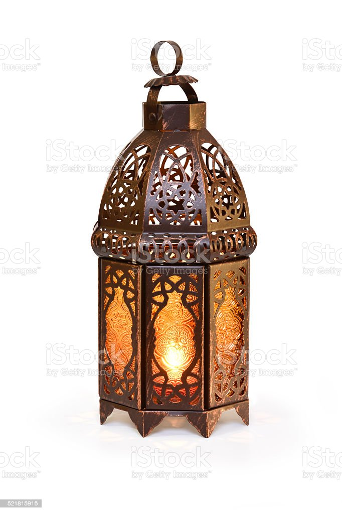 Islamic Lantern stock photo