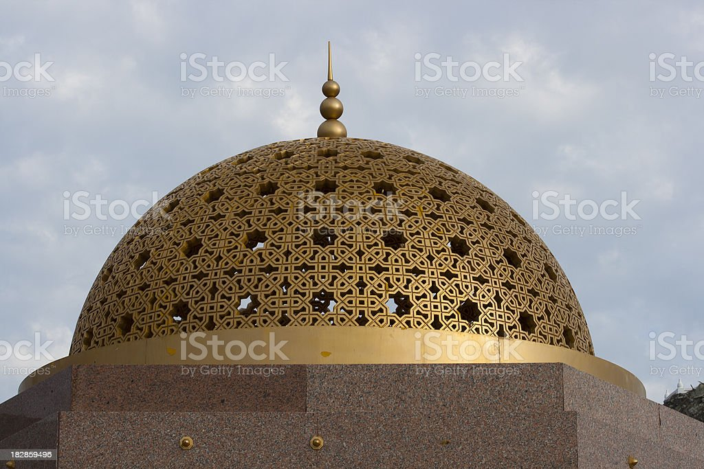 Islamic monument in Muscat, Oman royalty-free stock photo