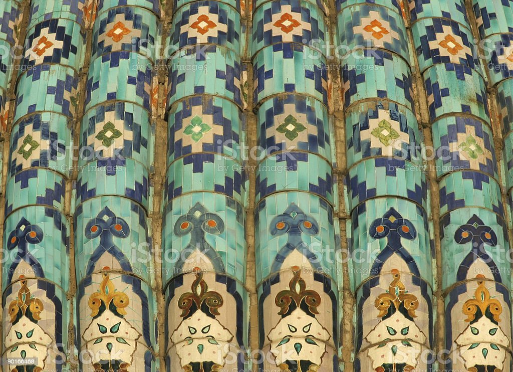 Islamic mosaic royalty-free stock photo