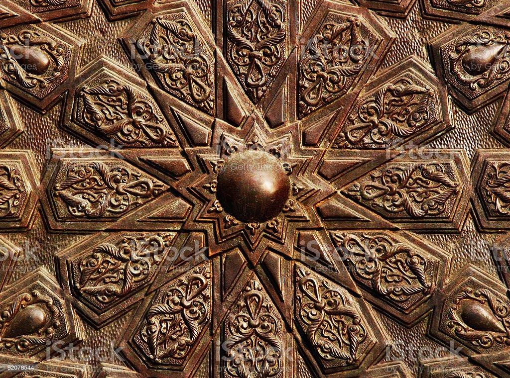 Islamic mosaic-8 stock photo