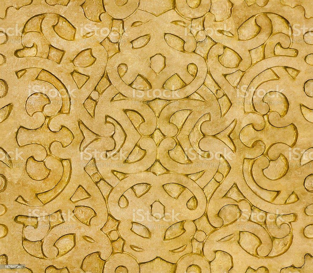 Islamic Pattern tile royalty-free stock photo