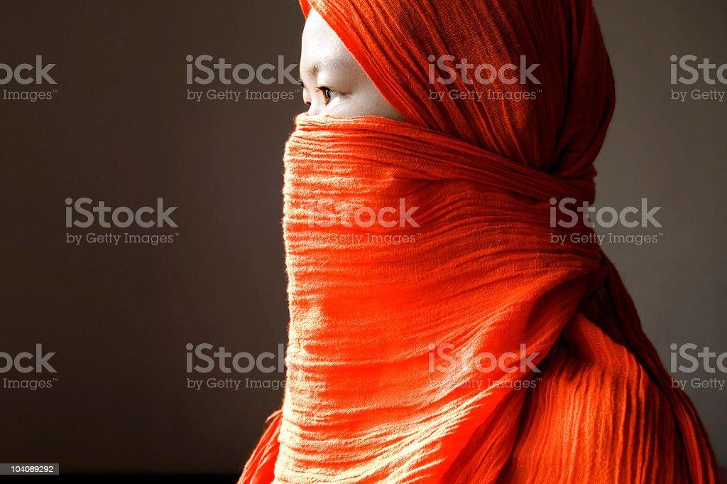 islamic women royalty-free stock photo