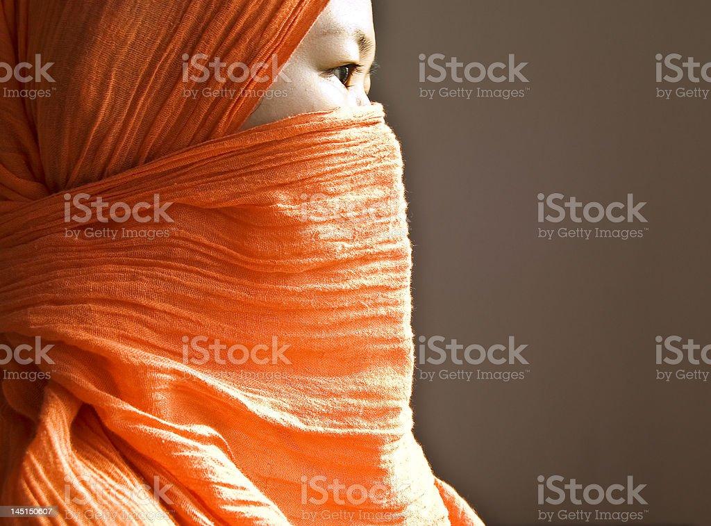 islamic women stock photo