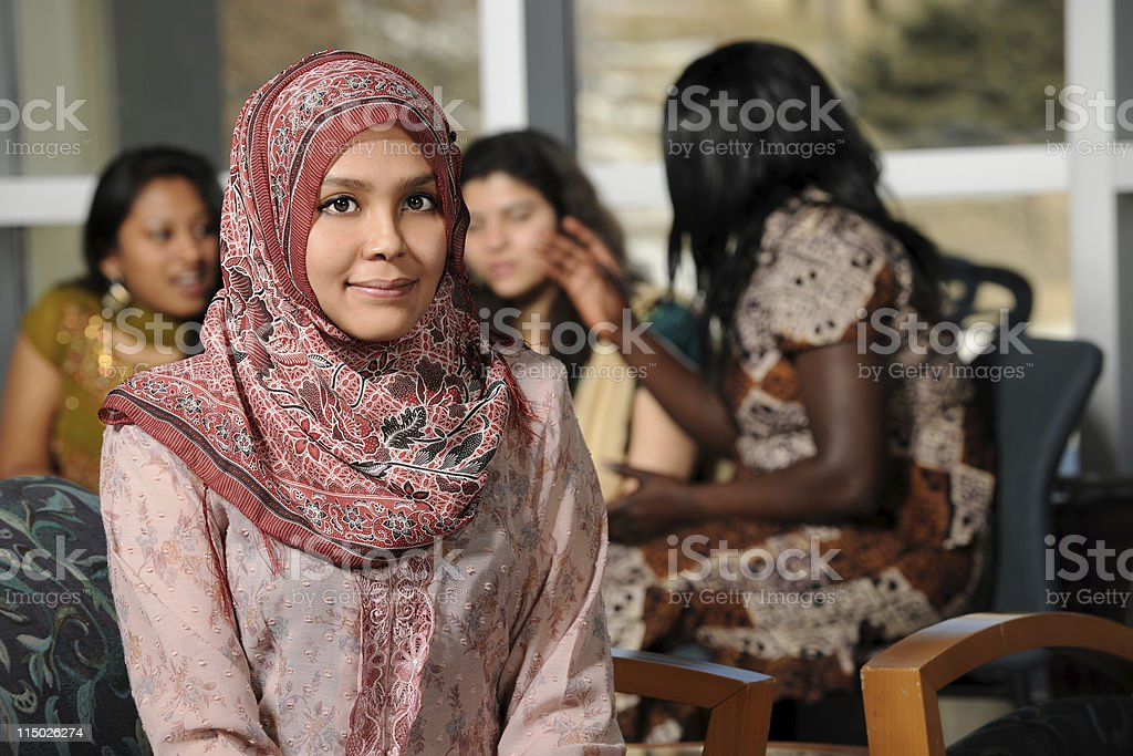 Islamic Young Woman royalty-free stock photo