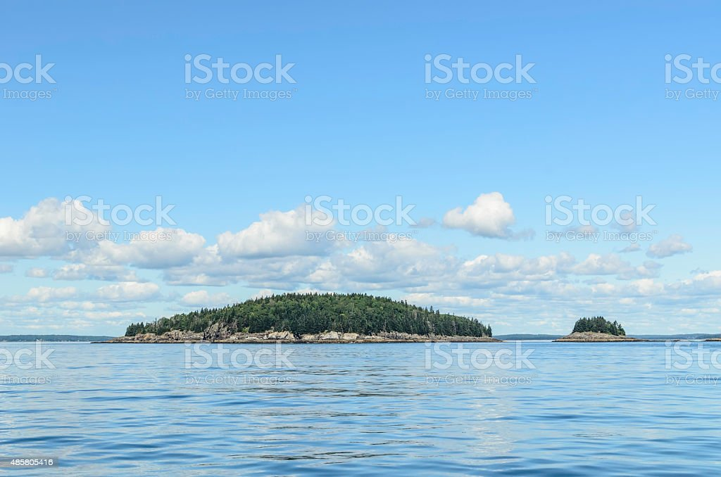 Island and little sister stock photo