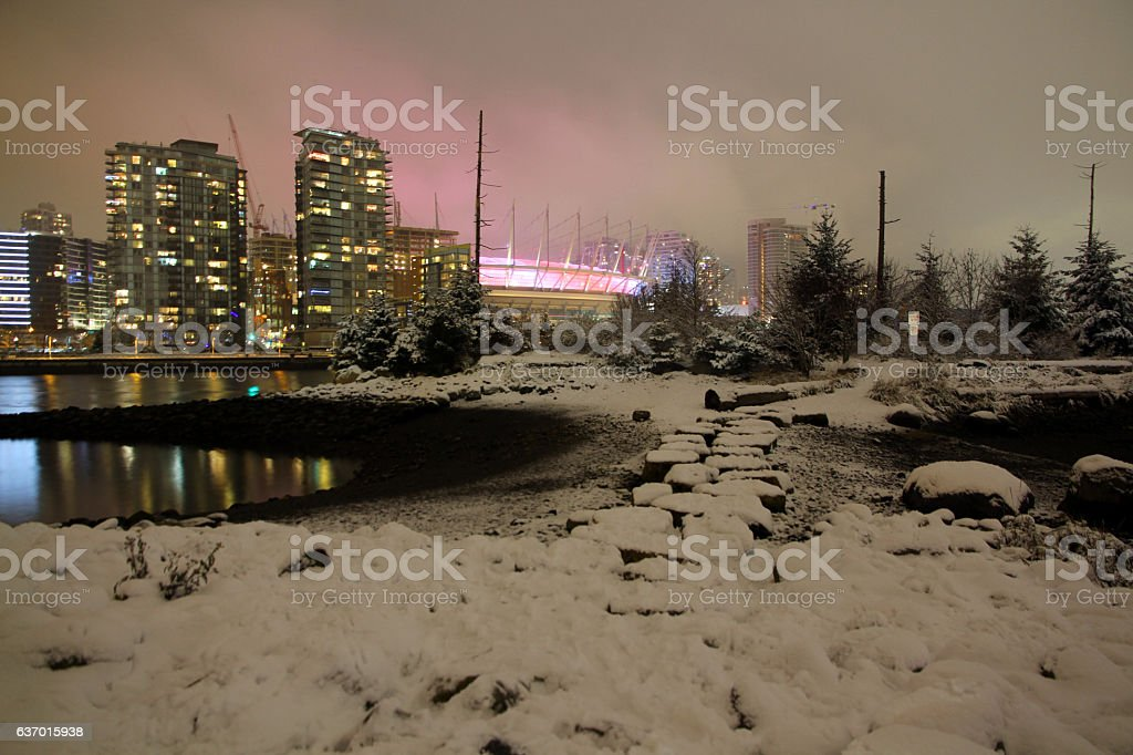 Island at the Core of the City stock photo
