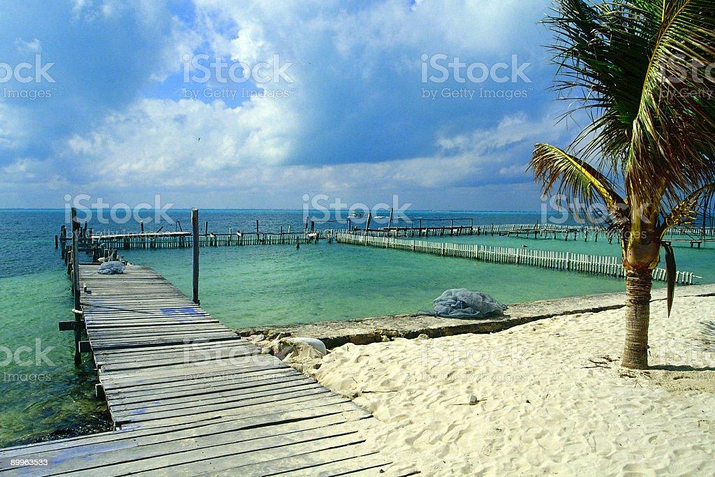 Island Bay royalty-free stock photo