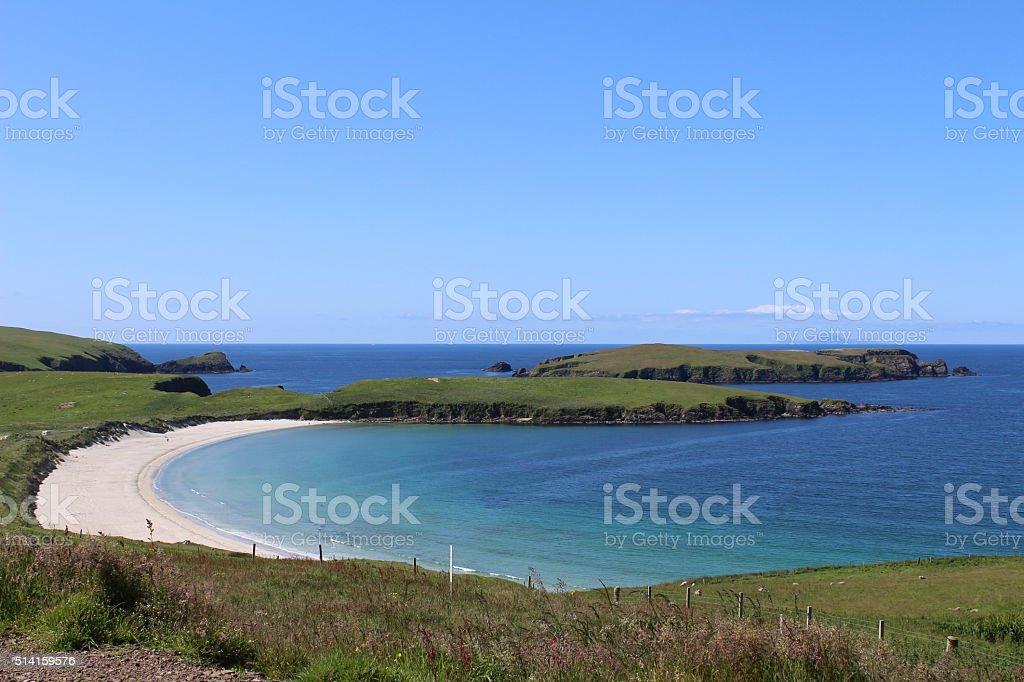 Island Beach stock photo
