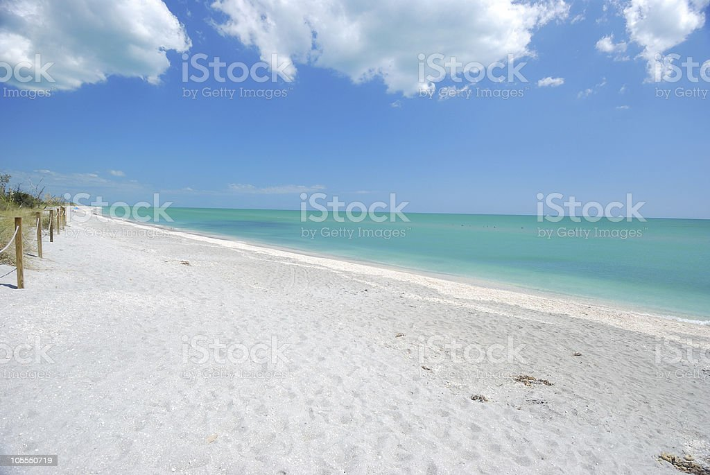Island Beach Vacation stock photo