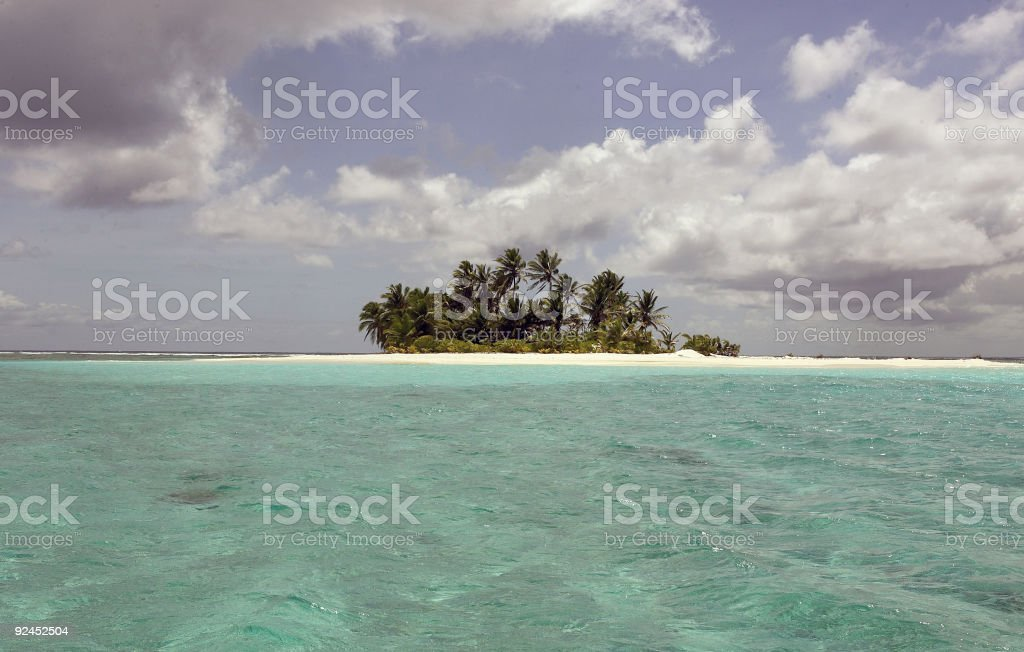 Island Cocos (Keeling) Islands - Indian Ocean royalty-free stock photo