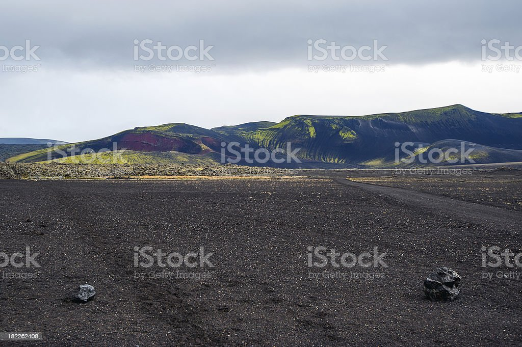 Island - Das Hochland royalty-free stock photo