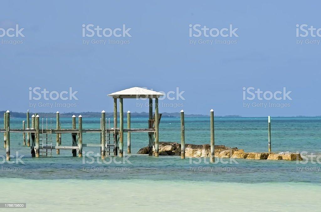 Island Dock stock photo