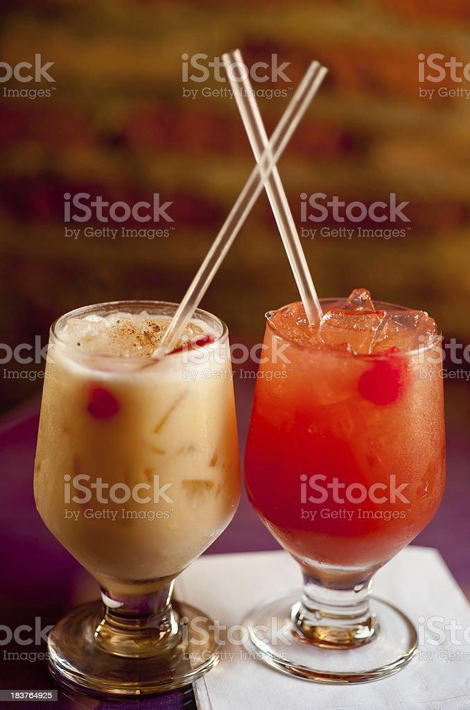 Island Drinks stock photo
