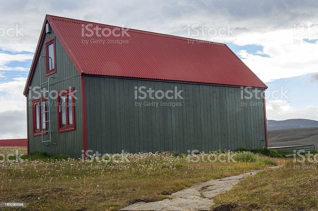 Island - Durchs wilde Hochland stock photo