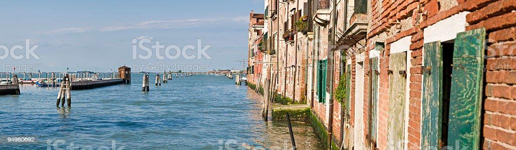 Island edge Venice royalty-free stock photo