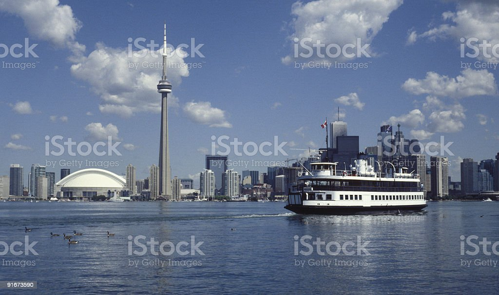 Island Ferry 3 royalty-free stock photo