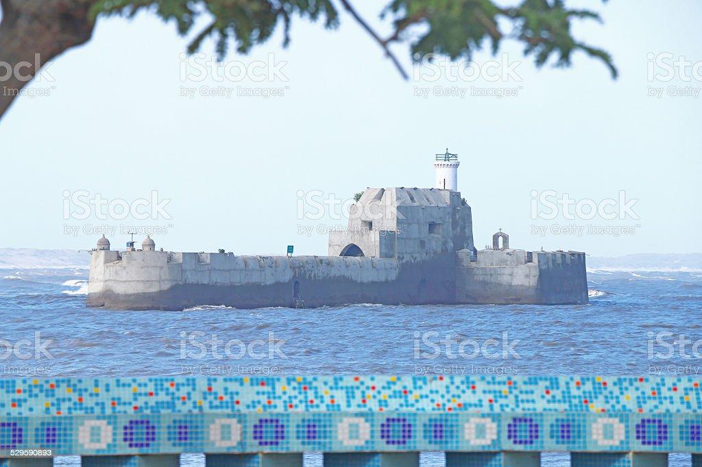 island fort diu gujarat india stock photo