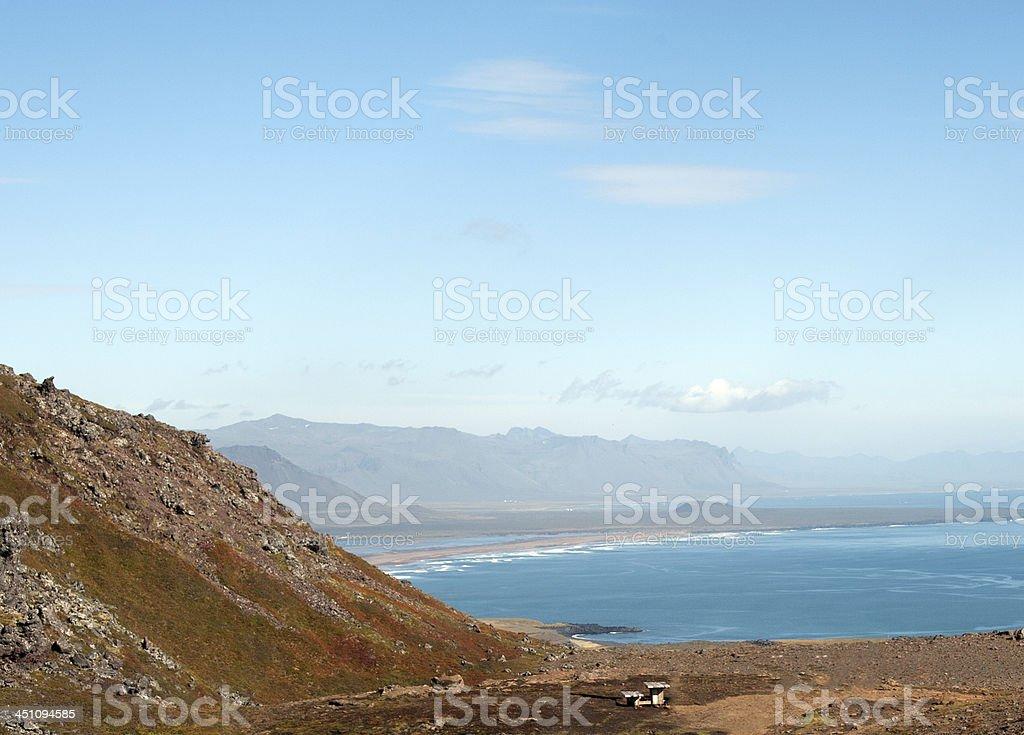 Island - Halbinsel Sn?fellsnes stock photo
