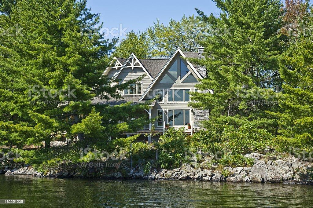 Island Home stock photo