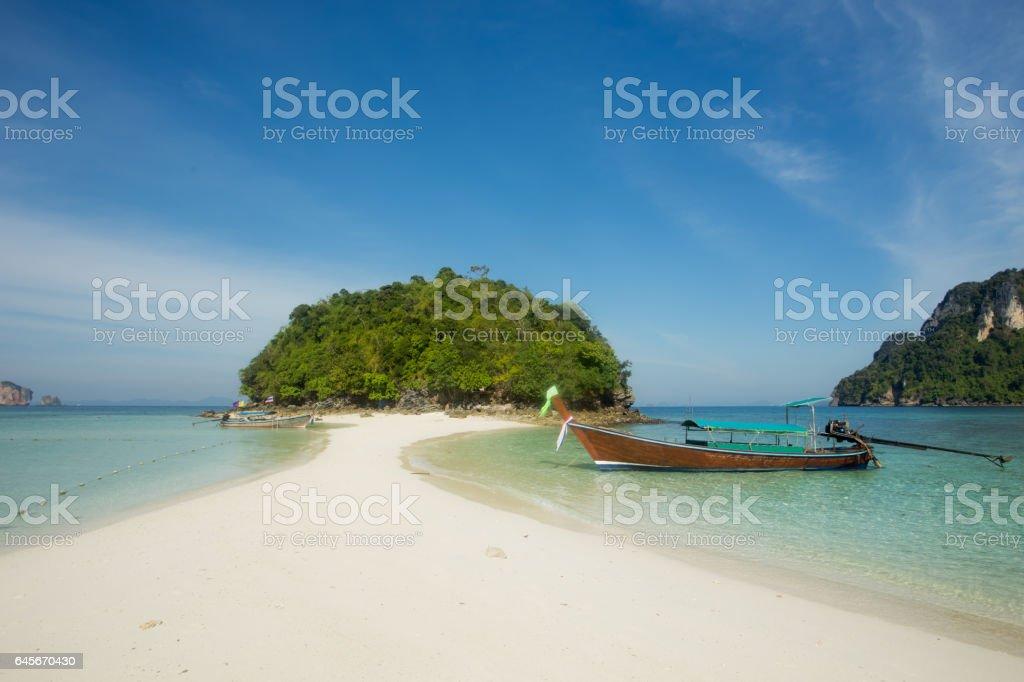 Island in Krabi, Thailand stock photo
