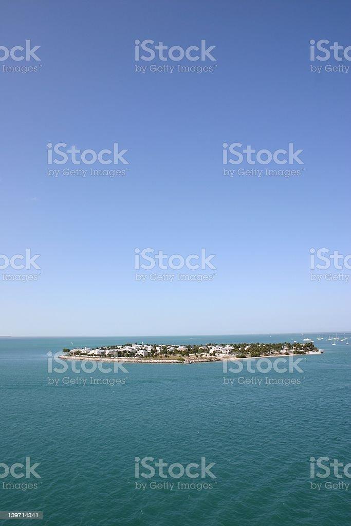 Island in the Sun royalty-free stock photo