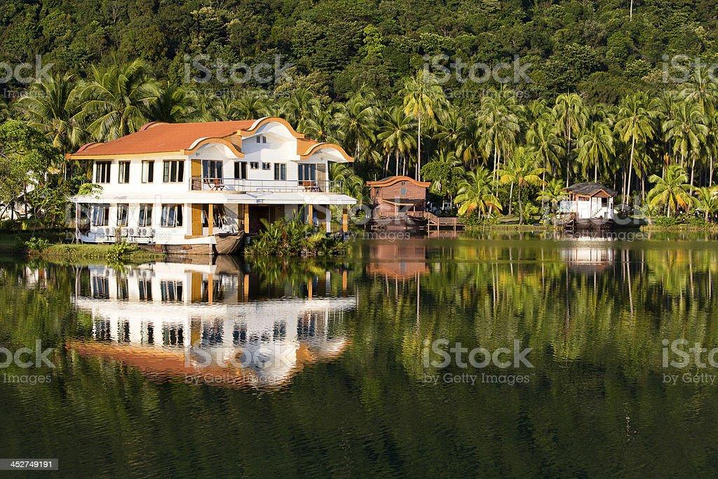 Island Koh Chang ,Thailand. stock photo