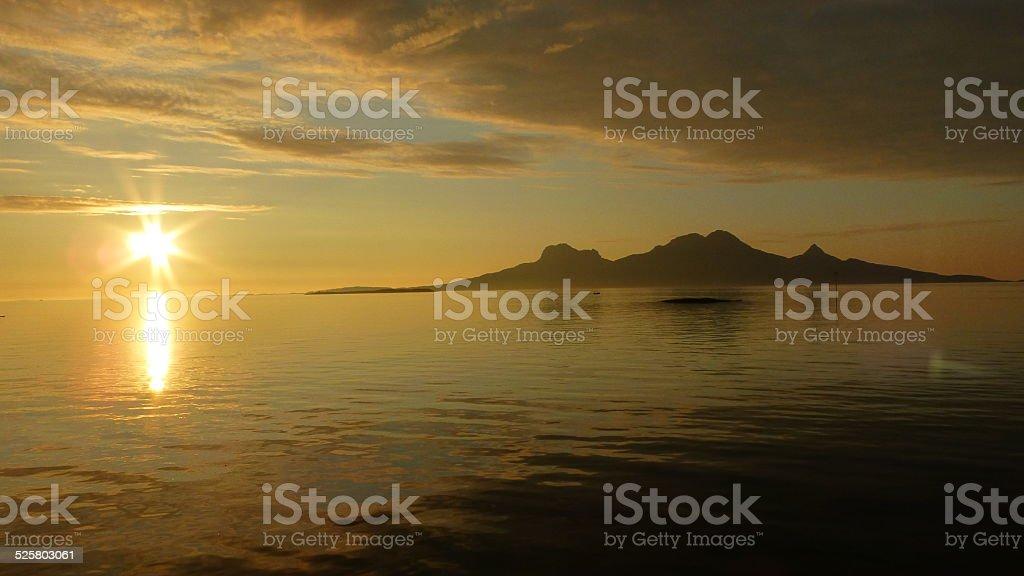 Island Landegode stock photo