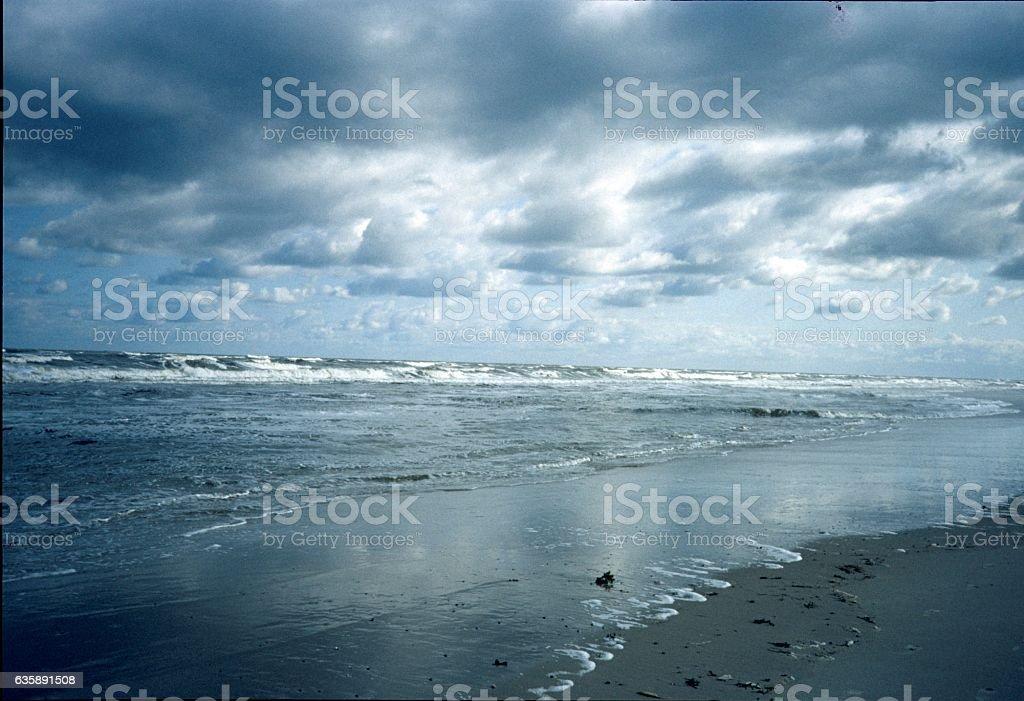 Island Langeoog, beach stock photo