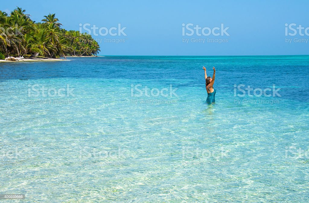Island life appreciation stock photo