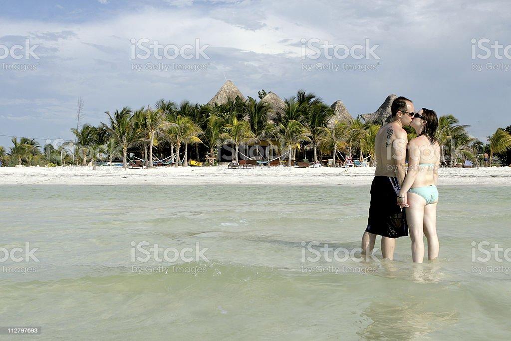 Island Lovers stock photo