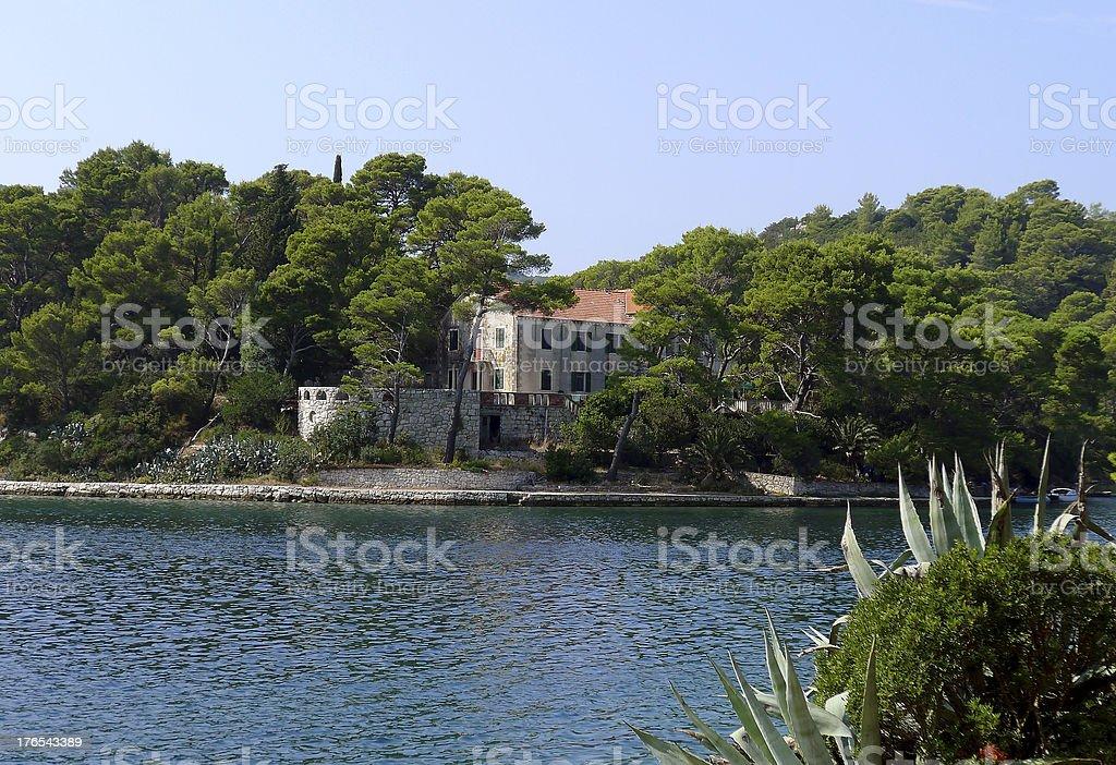 Island Mljet royalty-free stock photo