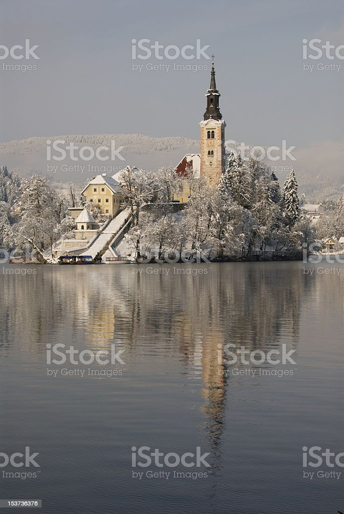 Island of Bled stock photo