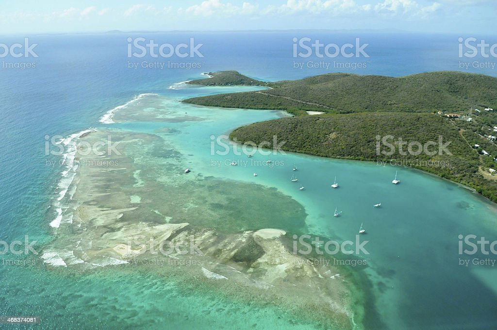 Island of Culebra, Puerto Rico stock photo