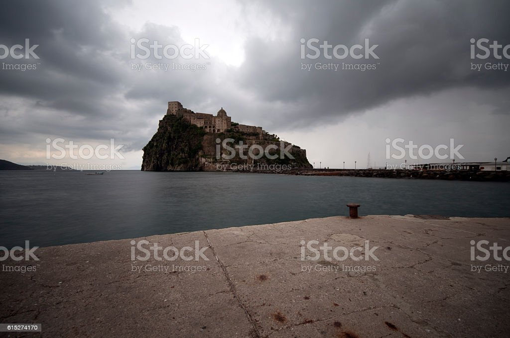Island of Ischia stock photo