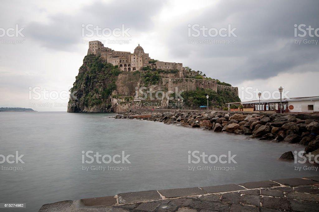 Island of Ischia stock photo