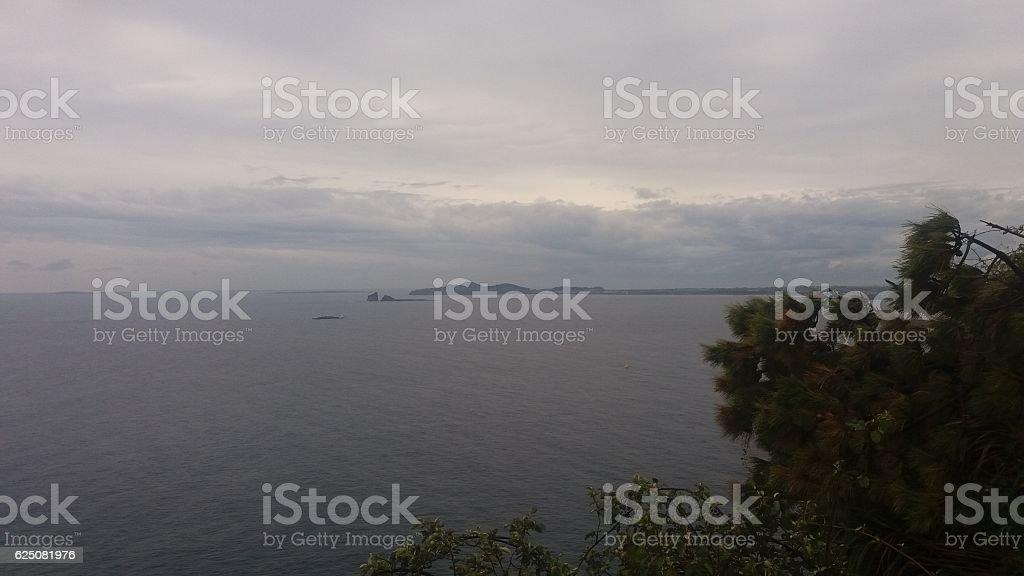 Island of Jeju Island, brother stock photo