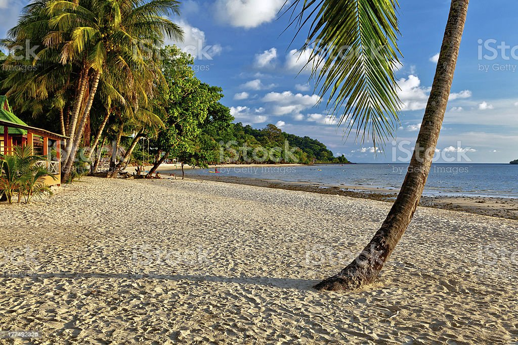 Island of Koh Chang in Thailand stock photo