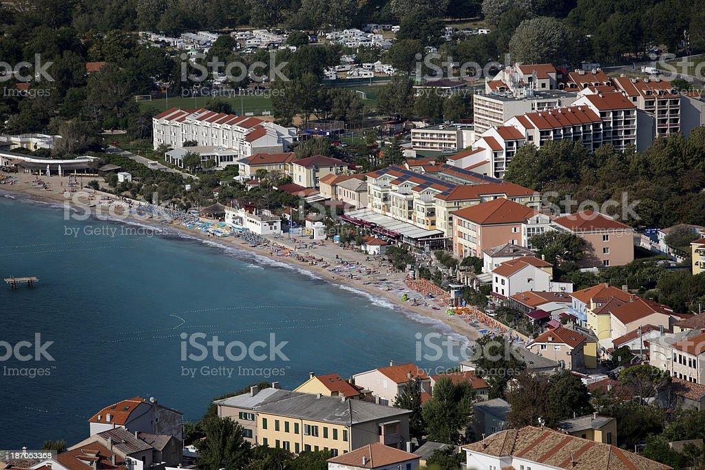 Island of Krk royalty-free stock photo