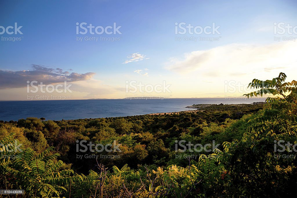 Island of Pag, Croatia, Europe stock photo