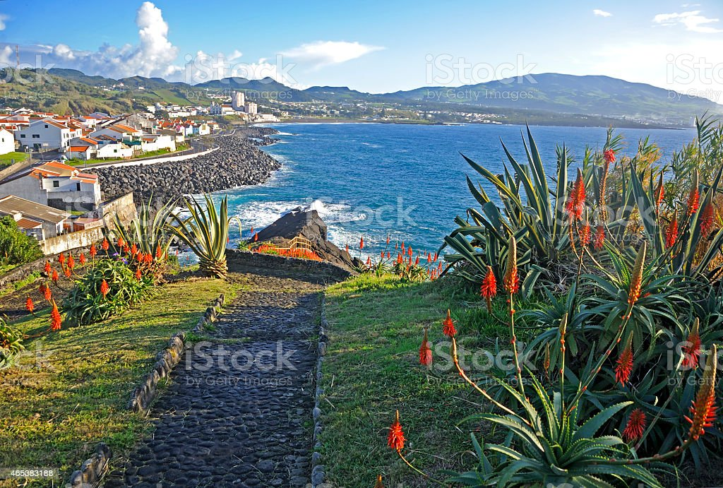 Island of San Miguel, Azores stock photo