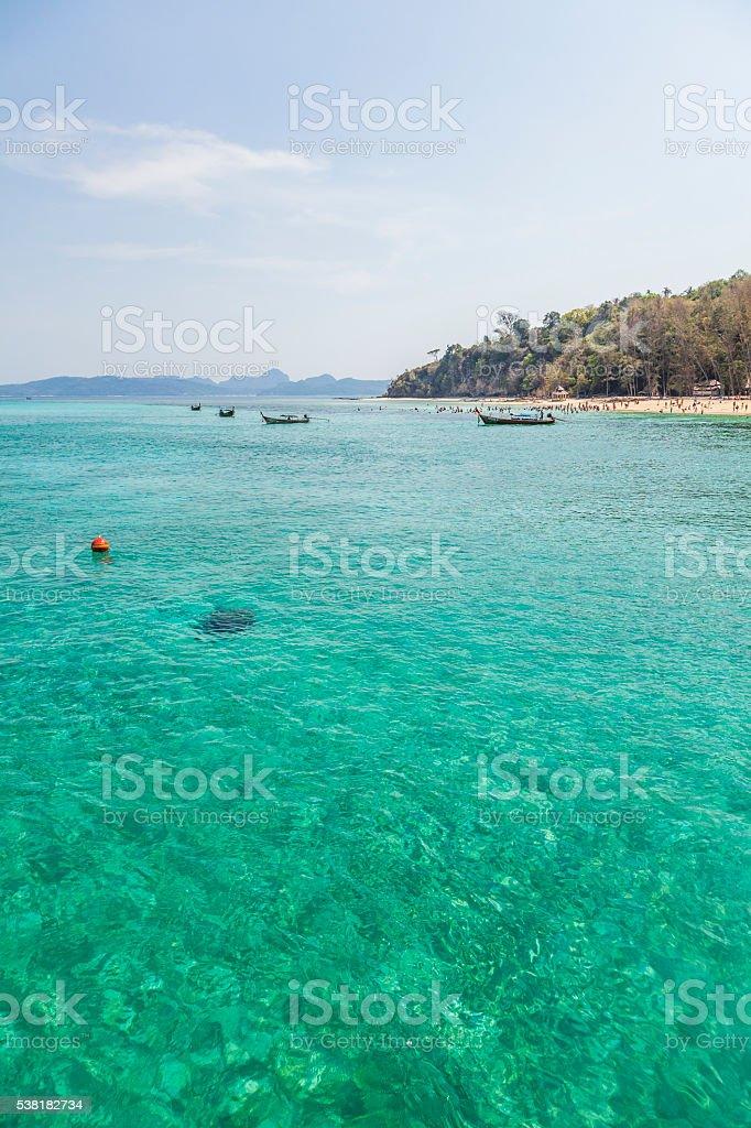 Island of Thailand stock photo