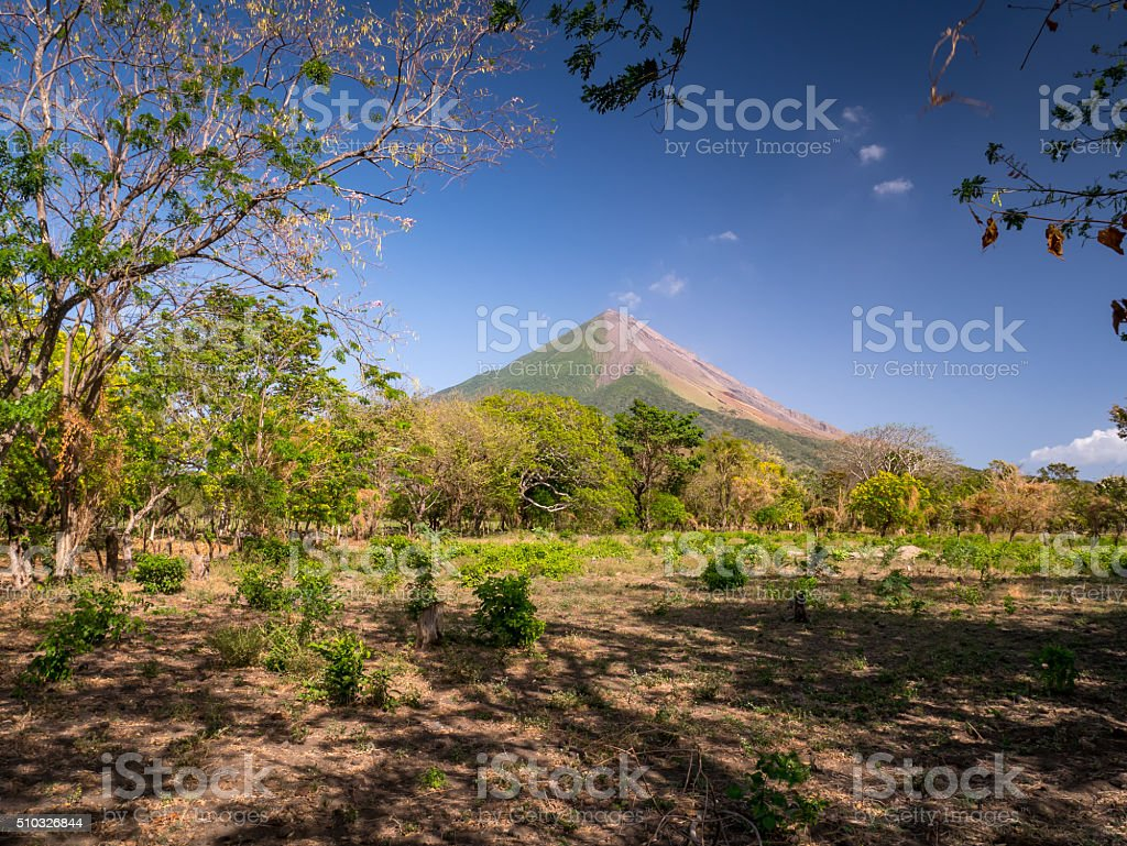 Island Ometepe in Nicaragua royalty-free stock photo