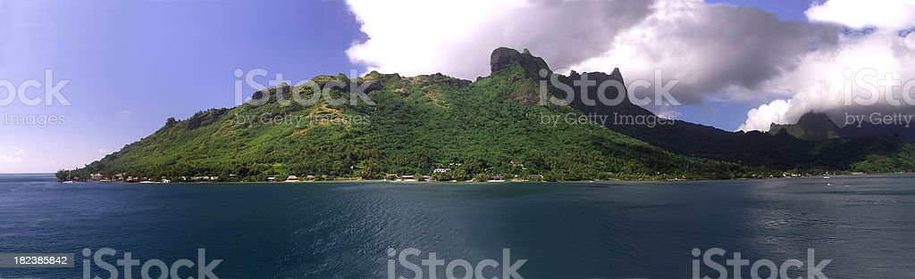 Island Panorama royalty-free stock photo