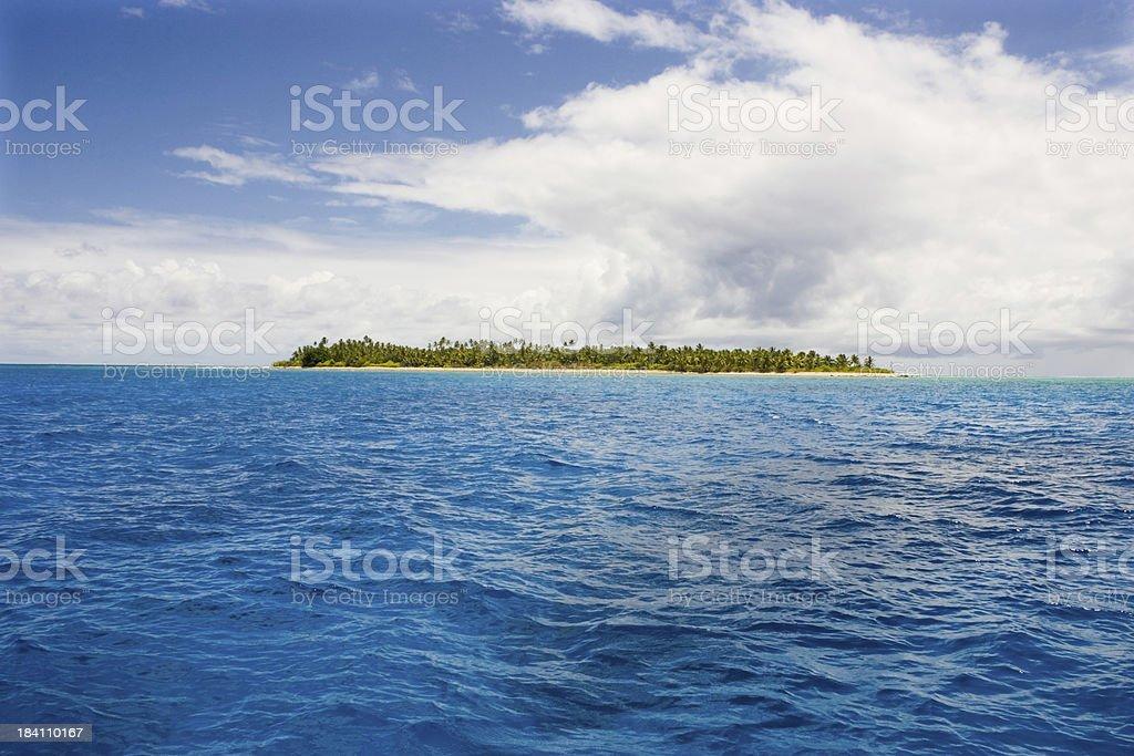 Island Paradise Indian Ocean royalty-free stock photo