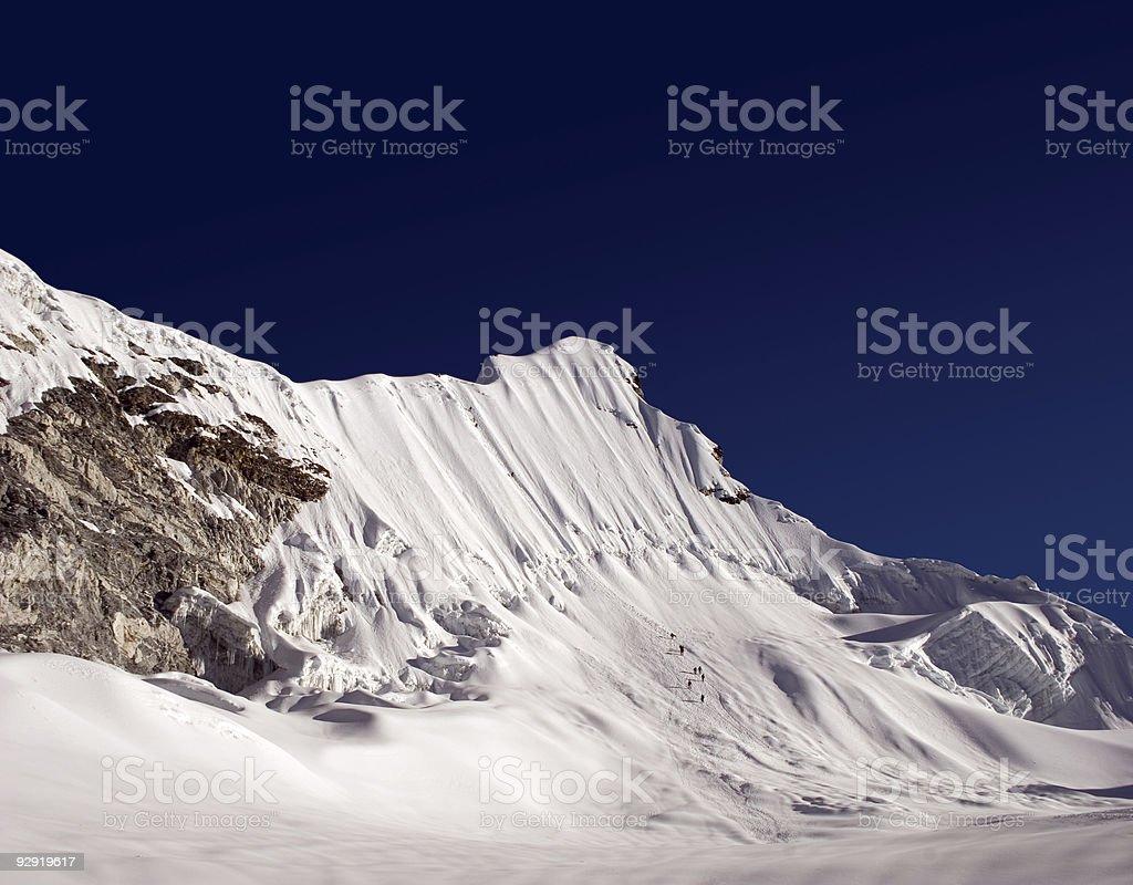 Island Peak - Nepal royalty-free stock photo