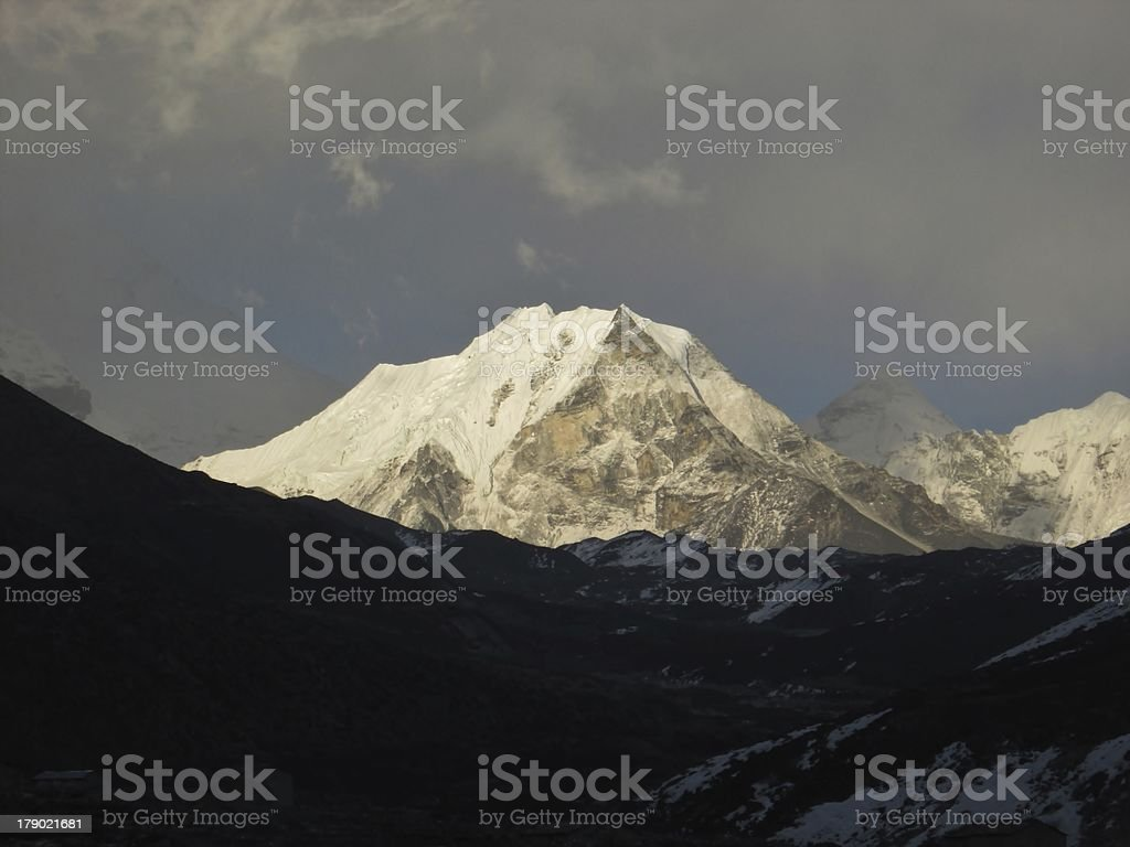 Island Peak royalty-free stock photo