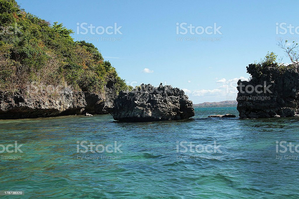 Island, Filippine foto stock royalty-free